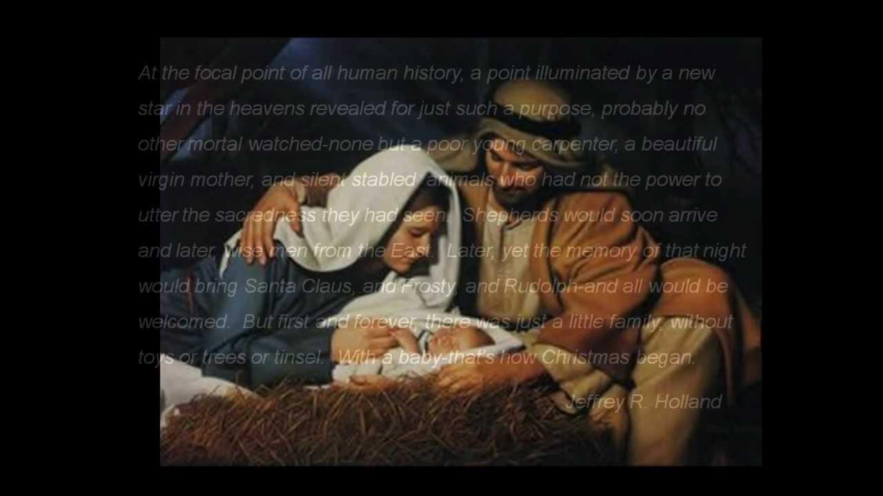 Mary did you know lds pictures youtube