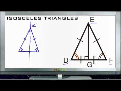 Isosceles Triangles Principles - Basic