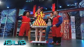 iBilib: Kylie Padilla tries to stand on multiple paper cups!