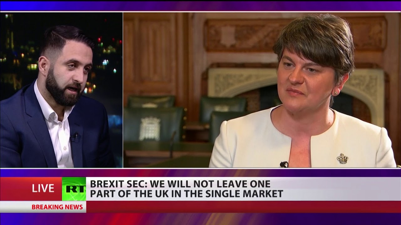 """""""DUP only received border proposals on day of May's talks with EU"""""""