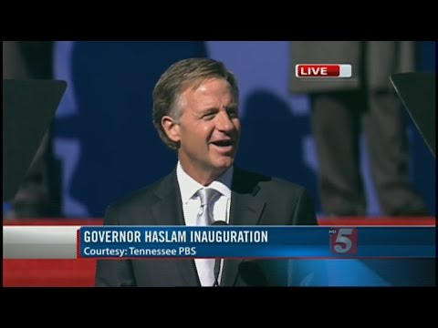 Web Extra: Gov. Bill Haslam Speaks At 2nd-Term Inauguration