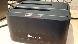 #83: Sharkoon SATA Quickport XT Duo USB3 Docking station Review (CCReviews)