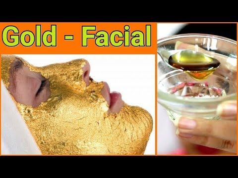 How to : PARLOUR LIKE GOLD - FACIAL for Fair, Glowing , Radiant, Crystal Clear Skin
