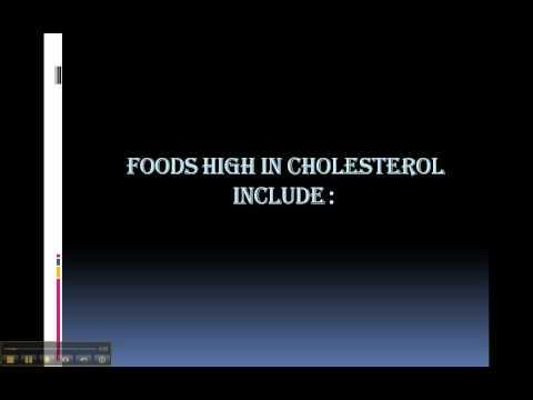 Cholesterol Free Diet  -5/1216