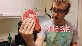 🍖 How to Cook a Steak 🍖 with Hot Dog Chef Extraordinaire PETER COOKS