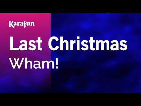 Karaoke Last Christmas - Wham! *