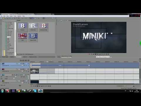 สร้าง Intro เทพๆ ด้วย Sony Vegas Pro