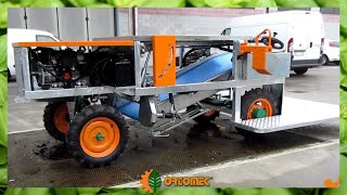 Small self-propelled harvesting machine ORTOMEC 3000 - Piccola raccoglitrice semovente