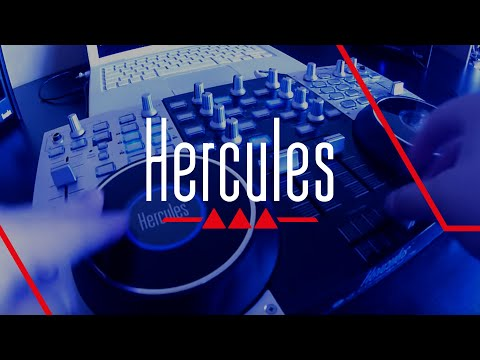 Hercules DJ Console 4-Mx - How to scratch
