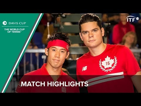 Highlights: Milos Raonic (CAN) v Kei Nishikori (JPN)