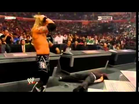 Armageddon 2008 - Edge Vs Jeff Hardy Vs Triple H video