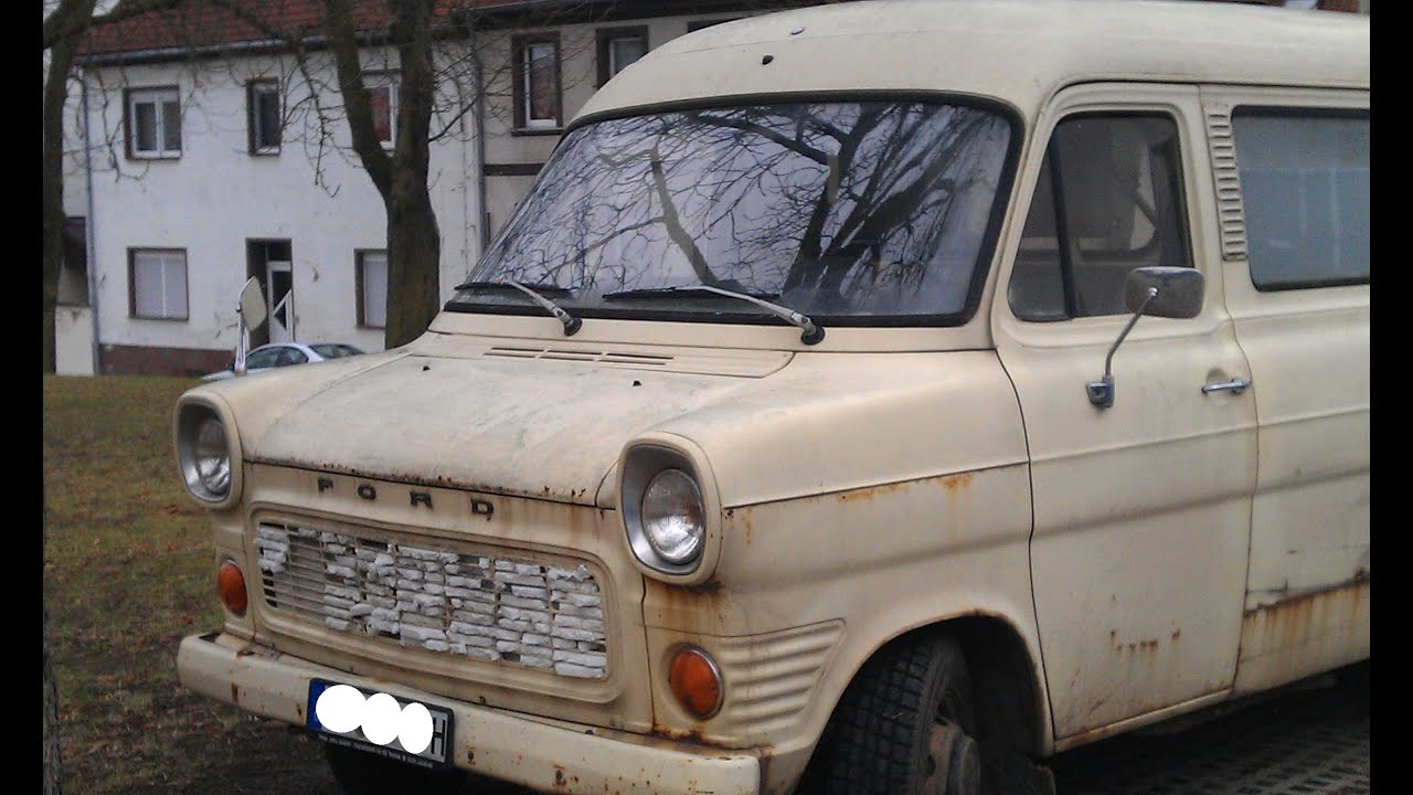 Ford 130 transit oldtimer classic car bus transporter camper old youtube
