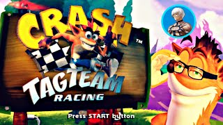 Crash Tag Team Racing PPSSPPv 1.1.1 + Configuración