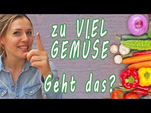 zu viel Gemüse - geht das ? | Gemüse Diät | Gemüse essen | Gemüse Proteine Fette | gesunde Ernährung