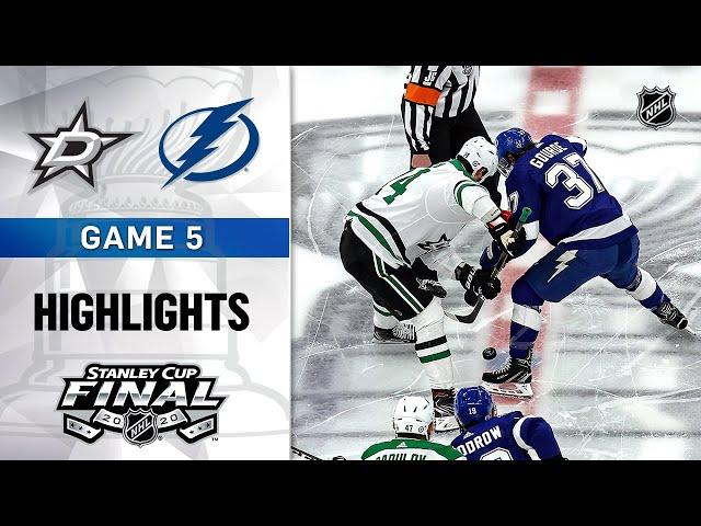 NHL Highlights  Stanley Cup Final, Gm5 Stars  Lightning - Sept. 26, 2020