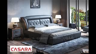 Giường bọc da -CASARA