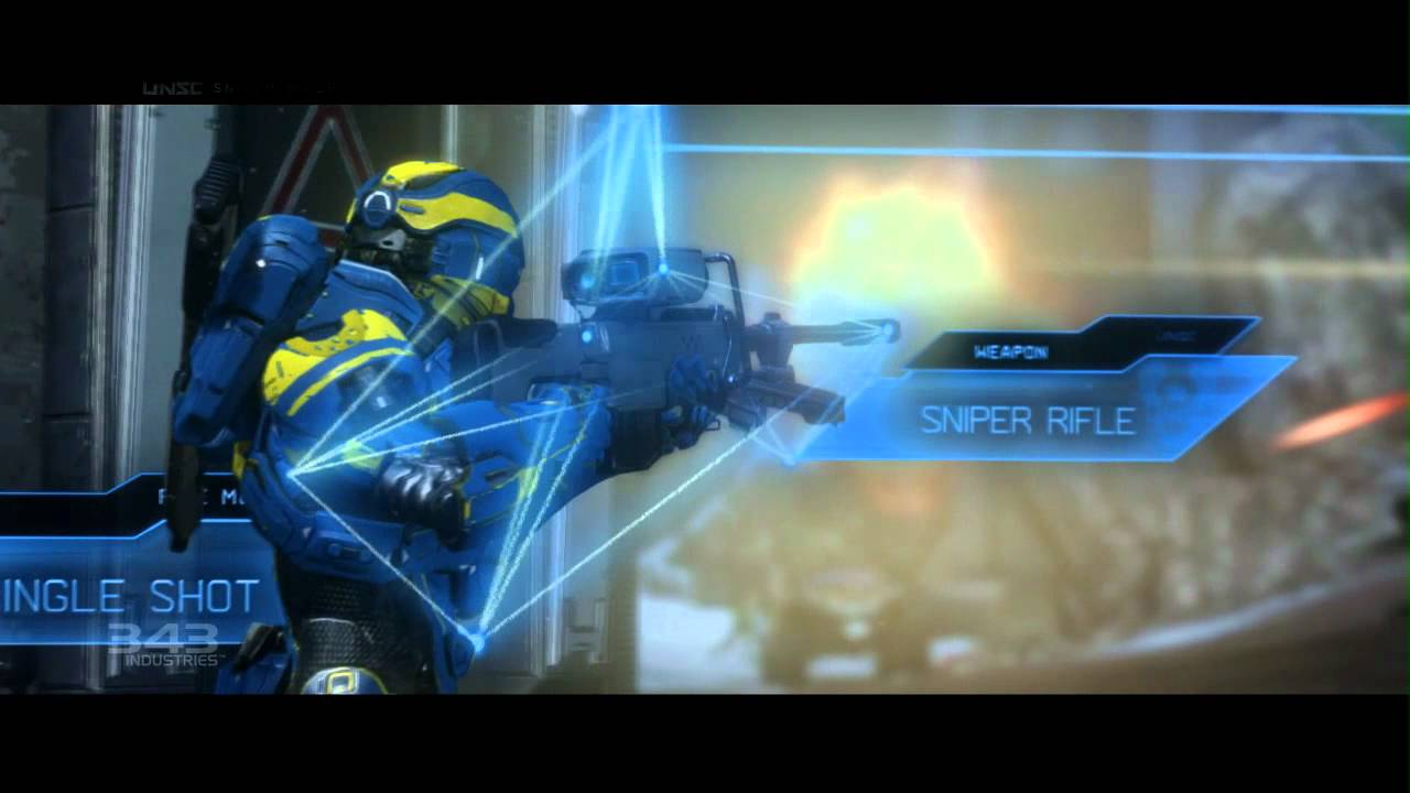 Halo 4 Unsc Guns Halo 4 Unsc Weapons