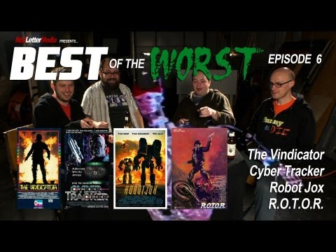 Best of the Worst: The Vindicator, Cyber Tracker, Robot Jox, and R.O.T.O.R.