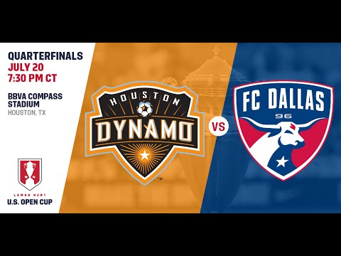 2016 Lamar Hunt U.S. Open Cup - Quarterfinal: Houston Dynamo vs. FC Dallas