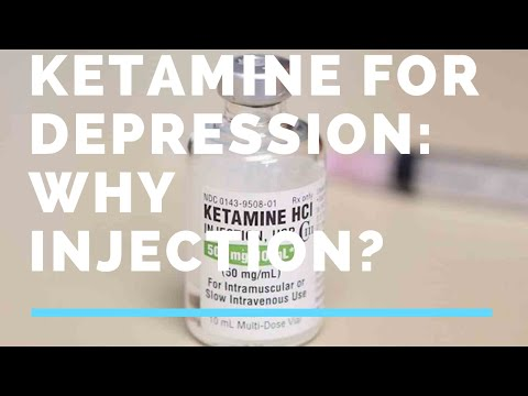 Ketamine for Depression: Why Injection?