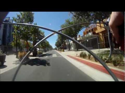 GoPro Bike Ride on Lancaster Blvd