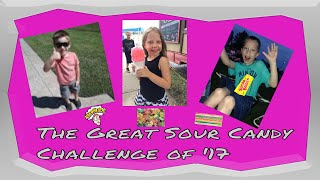 Sweet Kids, Sour Candy (Funny Food Challenge)
