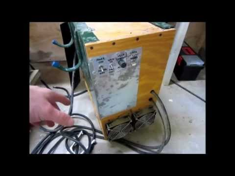 Homebuilt 220V DC ARC Welder