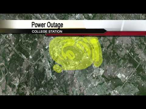 College Station Power Outage