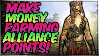 HOW TO MAKE GOLD FAST IN ESO WITH ALLIANCE POINTS! (Elder Scrolls Online Guide)