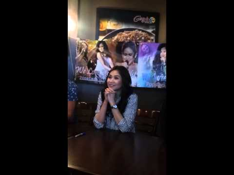 Sarah Geronimo at the M&G for SF 24/SG