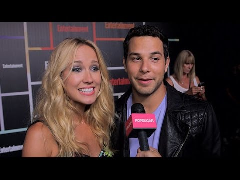 Watch Pitch Perfect's Anna Camp and Skyler Astin Be Adorably In Love