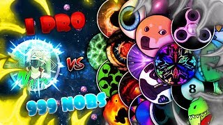 🔰NEBULOUS🔰 1 PRO vs. 999 NOOBS 😈 AMAZING DESTROYED 😱 ALL TRICKS 😏 DOUBLE, TRICK, POP & MORE! 👑