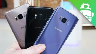 Samsung Galaxy S8 Color Comparison: Which One