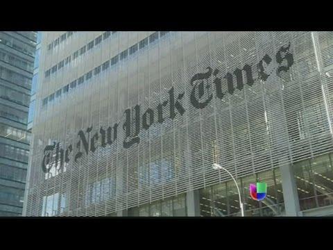Ataque cibernético a la página de internet del New York Times - Noticiero Univisión