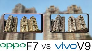 Oppo F7 Vs Vivo V9 Camera Test