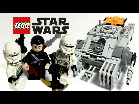 LEGO Star Wars Rogue One Imperial Assault Hovertank set review! 75152!