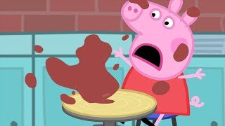 Peppa Pig English Episodes | Pottery with Peppa Pig | Cartoons for Children #163