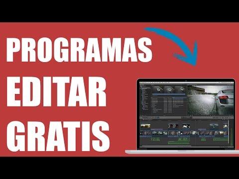 TOP 3 Mejores Programas EDITAR VIDEO GRATIS Profesional 2017 | + DESCARGA