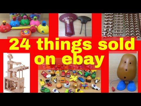 What sells on ebay? - 24 items I sold on ebay UK