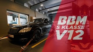 Mercedes Benz V12 S-Klasse Chiptuning by BBM