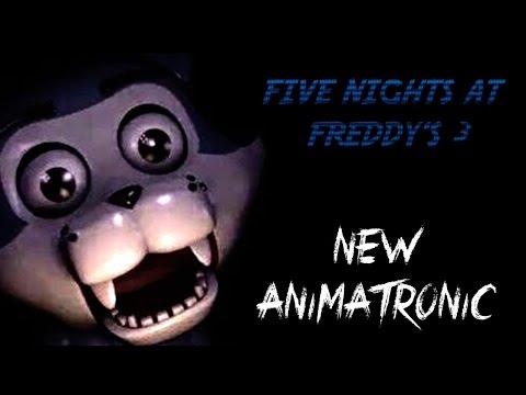 Yamimash1 Five Nights At Freddy's 3   NEW ANIMATRONIC!