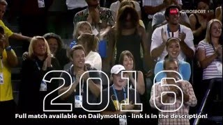 Serena Williams vs. Angelique Kerber | 2016 AO Final | 720p Eurosport | Link in description!