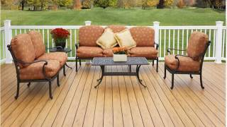 easy inexpensive material to cover wood deck floor