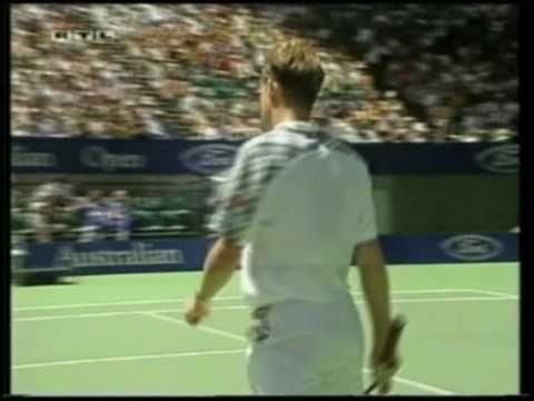 Stefan Edberg - Todd Martin Semifinal Australien Open 1994