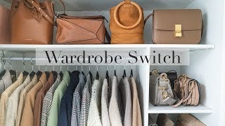 My Wardrobe Switch Over | Organise & Clear Out