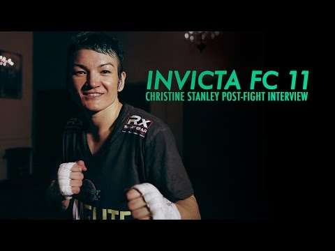 Invicta FC 11: Christine Stanley Post-Fight Interview
