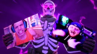 KILLING TWITCH STREAMERS (Funny Reactions) #4 - Fortnite