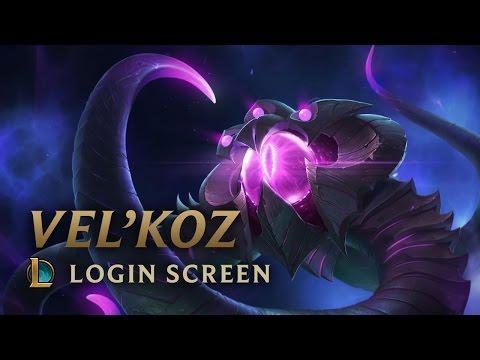 Vel'Koz, The Eye Of The Void - Login Screen