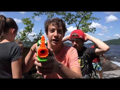 Nerf Boy VS The Wild