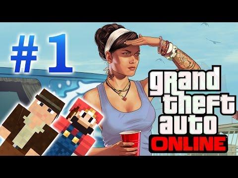 Играем в GTA Online (1 серия)